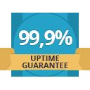 99,9% Uptime Guarantee